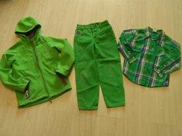 Комплекты верхней одежды - Пакет ветровка джинсы рубашка 7-9 лет. Цена за все, 0