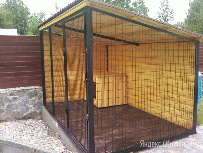 Вольер для собаки любого размера по цене 45000₽ - Клетки, вольеры, будки , фото 0