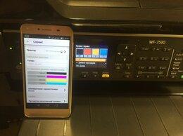 Принтеры и МФУ - Мфу Epson WF-7510 (A3 формат, снпч, wifi), 0