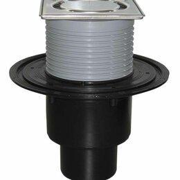 """Комплектующие - HL310NPr-3000 Трап с решёткой в подрамнике с сифоном """"Primus"""" и  надставным элем, 0"""