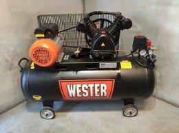 Воздушные компрессоры - Компрессор поршневой Wester WBK2200/100PRO, 0