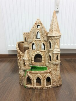 Декорации для аквариумов и террариумов - Керамический домик - замок  - грот для аквариума, 0
