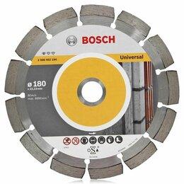 Диски отрезные - Алмазный диск Bosch Алмазный отрезной круг по бетону 2.4х180мм Standard for U..., 0