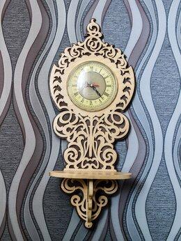 Часы настенные - Настенные часы с полкой, 0