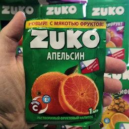 Ингредиенты для приготовления напитков - Растворимый напиток Zuko со вкусом апельсина (Чили) 25 гр., 0