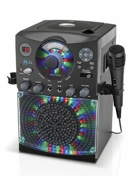Системы караоке - Караоке система Singing Machine черная с…, 0