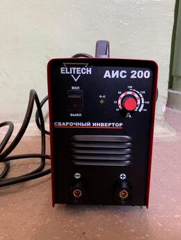 Сварочные аппараты - Сварочный аппарат (инвертор) Elitech аис 200, 0