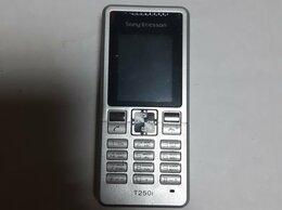 Мобильные телефоны - Sony Ericsson T250i Silver новый, 0
