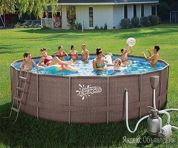 Каркасный бассейн по цене 39900₽ - Бассейны, фото 0