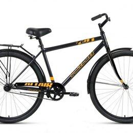 """Велосипеды - Городской велосипед ALTAIR City high 28 темно-серый/оранжевый 19"""" рама, 0"""