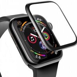 Аксессуары для умных часов и браслетов - Защитное стекло на Apple Watch 40,44mm, 0