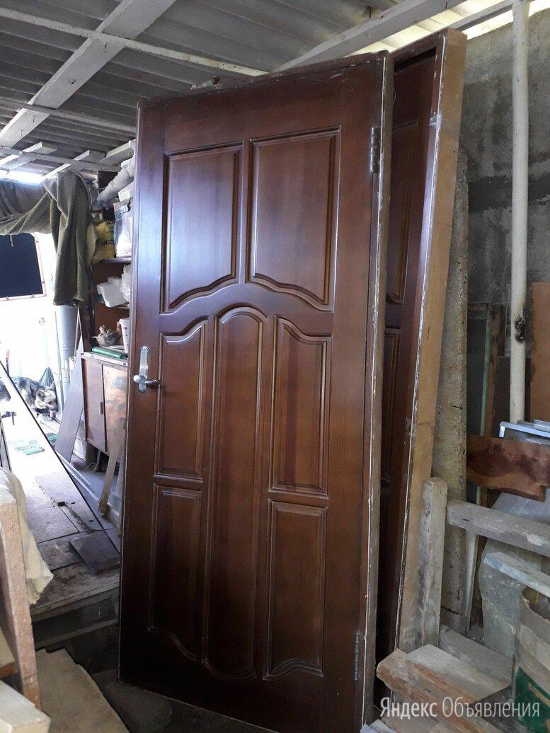 Двери межкомнатные массив с коробкой б/у в отличном состоянии  по цене 12000₽ - Межкомнатные двери, фото 0