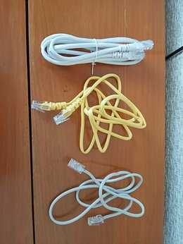 Кабели и разъемы - Интернет-кабели, 1.5 метра, 0