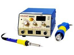 Электрические паяльники - Термовоздушная паяльная станция YA XUN 886D, 0