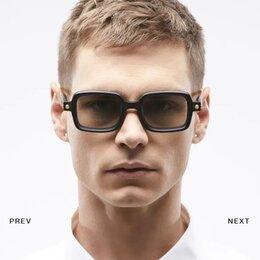 Очки и аксессуары - Очки с квадратной  оправой мужские, 0