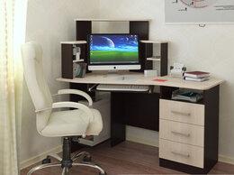 Компьютерные и письменные столы - Компьютерный стол Каспер  венге/лоредо, 0