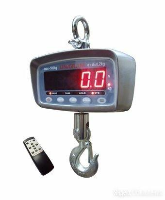 Весы крановые электронные КВ-1000 с диапазоном взвешивания до 1000кг по цене 32400₽ - Напольные весы, фото 0