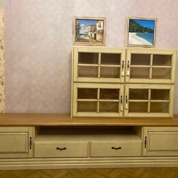 Шкафы, стенки, гарнитуры - Мебель для гостиной из дерева, 0