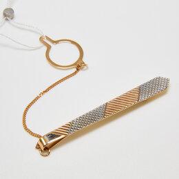 Запонки и зажимы - Зажим для галстука из красного Золота 585, 0