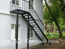 Лестницы и элементы лестниц - Лестница металлическая на улицу, с сварными…, 0