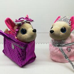 Мягкие игрушки - Чичилав в сумке ходит на поводке, 0