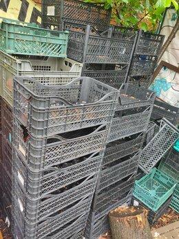 Прочие хозяйственные товары - Тара ящики пластиковые разные размеры, 0