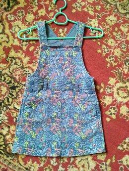 Платья и сарафаны - сарафан джинсовый детский, 0
