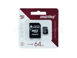 Карты памяти - Карта памяти MicroSD 64GB Smartbuy Class 10 SDXC…, 0