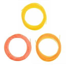 Расходные материалы для 3D печати - Пластик PCL для 3D ручки, длина: 5 м, цвета желтого МИКС, 0