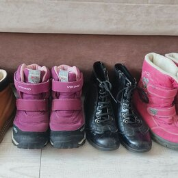 Ботинки - Ботинки для девочки 33-34 размер, 0