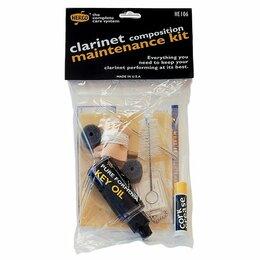 Радиодетали и электронные компоненты - Dunlop HE106 Набор по уходу за эбонитовым кларнетом, 0
