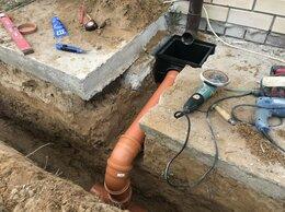 Дренажные системы - Дренаж устройство ливневой канализации, 0
