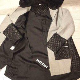 Пальто и плащи - Пальто для девочки размер 38-40.Состояние хорошее,цена 1000р , 0