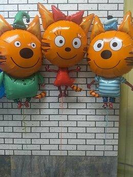 Воздушные шары - Детские воздушные шары Коржик, Карамелька и Компот, 0