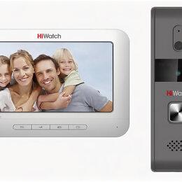 Домофоны - Комплект видеодомофона DS-D100K, 0