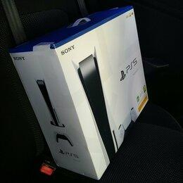 Игровые приставки - Sony Playstation 5 с дисководом, 0