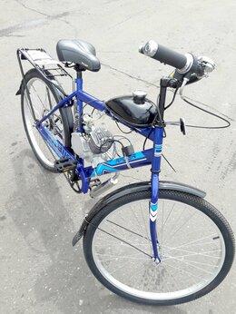 Мототехника и электровелосипеды -  Бензиновый велосипед Techno 80R, 0