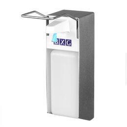 Дезинфицирующие средства - Диспенсер для антисептика и жидкого мыла BXG ESD-1000, локтевой, механический..., 0