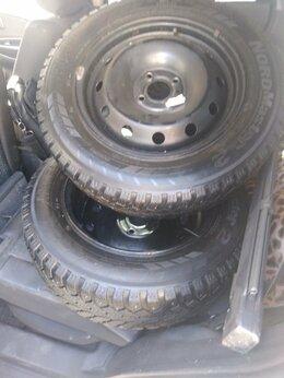 Шины, диски и комплектующие - Комплект зимней резины на штамповонных дисках, 0