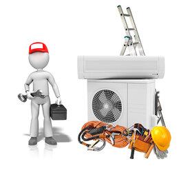 Ремонт и монтаж товаров - Высотные работы при монтаже сплит-системы, 0
