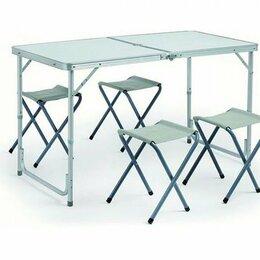 Походная мебель - Складной стол со стульями, 0