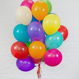 Воздушные шары - Гелиевые шары ассорти, 0