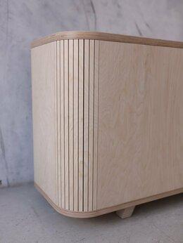 Тумбы - ТВ тумба с тамбурными дверцами , 0