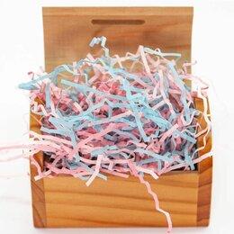 Подарочная упаковка - Наполнитель бумажный, Светлое ассорти, 50 гр, 0