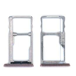 Прочие запасные части - Лоток для SIM-карты Meizu U10 розовый, 0