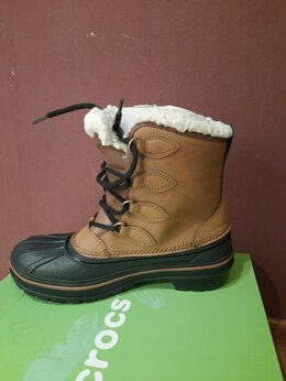 Полусапоги - Зимние женские ботинки Сrocs Новые р.36, 0