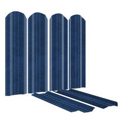 Заборы, ворота и элементы - Штакетник ЭКО-М (порошковая покраска АНТИК) двусторонний, 0