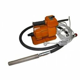 Глубинные вибраторы - Комплект вибратора глубинного ЭП-210 , гиб вал 3м, 38 мм, 0