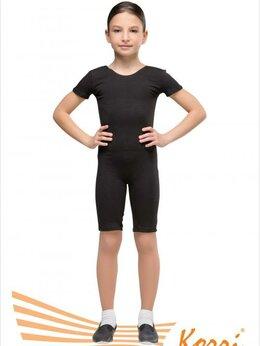 Художественная гимнастика - Комбинезон гимнастический х/б  Г09-301 черный,…, 0