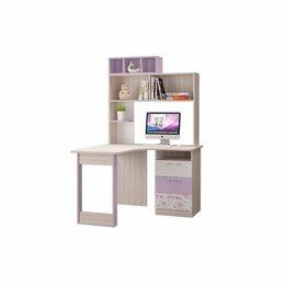 Компьютерные и письменные столы - Стол Письменный Угловой С Надставкой Адель, 0